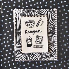 Ramen illustration by 10monies.