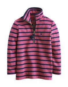 "#Joules ""Fairdale"" - € 23,45 - Wikimo Kindermode, Kinder Sweatshirt, pink gestreift by Tom Joule | wikimo.eu"