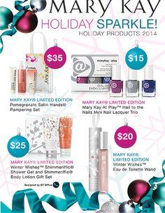 Mary Kay® Holiday Products! www.marykay.com/annemariemartin