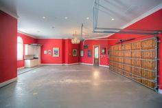 50 Garage Paint Ideas For Men - Masculine Wall Colors And Themes Garage Paint Colors, Wall Colors, Garage Renovation, Garage Interior, Interior Paint, Garage Walls, Garage House, Dream Garage, Garage Shop