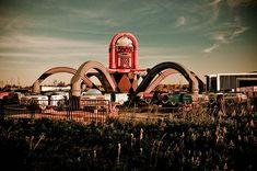 abandoned mexico | Fotografia: Six Flags, parque abandonado en New Orleans !