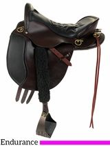 "15.5"" to 18.5"" Tucker Equitation Endurance Saddle 149 w/Free Pad"