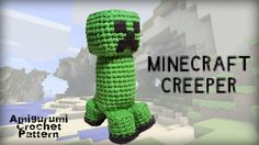 minecraft creeper crochet pattern
