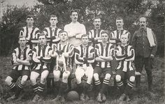 Playing Away; 11th Hussars Remount Football Team ca 1914 - 1918