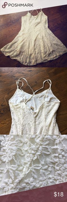 American Eagle dress New with tags!! American Eagle dress!! Perfect for summer or cute with a denim jacket and boots!! American Eagle Outfitters Dresses Mini