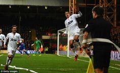 Robin van Persie goal celebration
