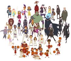 Characters by kse332.deviantart.com on @deviantART