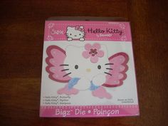 sizzix hello kitty butterfly-would make a really cute card front for leah