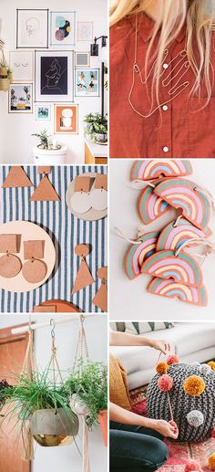 6 DIYs to Try This Weekend #modern #diy #women #paper