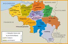belgie provincies