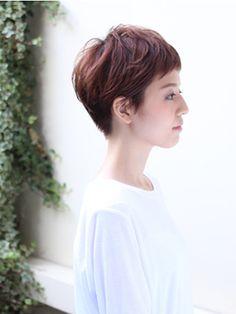 Japanese Short Hair, Asian Short Hair, Japanese Hairstyle, Short Hair Cuts, Short Hair Styles, Short Pixie Haircuts, Girl Haircuts, Pixie Hairstyles, Short Hairstyles For Women