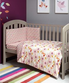 Patternology (Bird) - Cotbed Quilt - Patternology - Mamas & Papas #mamasandpapas #dreamnursery