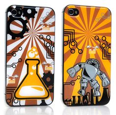 cover iphone robot