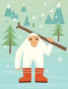 Yeti ski