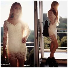 How to Chic: SWEET LACE DRESS