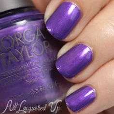 Morgan Taylor Kung Fu Panda 3 Collection Review and Swatches in Extra Plum Sauce shade