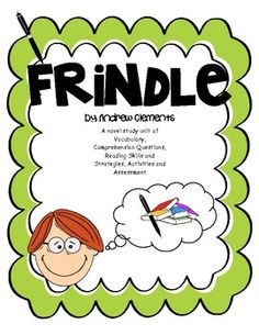 frindle book report questions Version #3-- frindle [andrew clements] abridged printable book unit (this version contains vocabulary practice, comprehension questions, and constructed response writing) the digital resources include:.