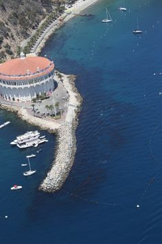 The Catalina Casino has been an entertainment destination on Catalina Island since 1929.