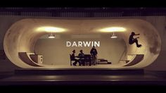 """DARWIN by Groovy Baby. Two days ago I went to """"le hangar Darwin"""" to shoot friends (who are not pro skaters by the way). It was the first time I film in this place and I have to say a big Bravo to all the guys involved in this amazing urban project. It is an awesome Job. I hope i'll be able to shoot more in this place. Next time I'll stay more than an hour ;)"""