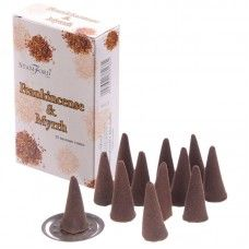 Stamford Hex Incense Cones - Frankincense and Myrrh Incense Cones, Incense Sticks, Frankincense Incense, Burning Incense, Stamford, Wicca, Fragrance, Place Card Holders, Gothic