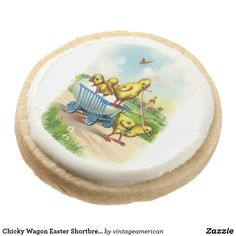 Chicky Wagon Easter Shortbread