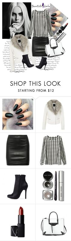 """Beautiful Halo 2"" by fashionb-784 ❤ liked on Polyvore featuring The Row, Bobbi Brown Cosmetics, NARS Cosmetics, Balenciaga, beautifulhalo and bhalo"