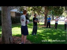 Self defense clinic for personal training clients.