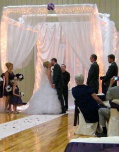 diy pvc pipe arch, Holly thought I'd send this to you! You know it is a perfect wedding project for your Dad!