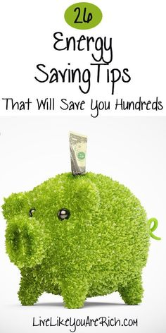 Don't miss these Energy saving tips! #LiveLikeYouAreRich