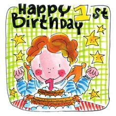 Happy 1st Birthday.