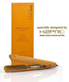 Did you know that Mixed Chicks has a flat iron? This professional grade styling tool is a must-have for all curly girls who want silky straight tresses!