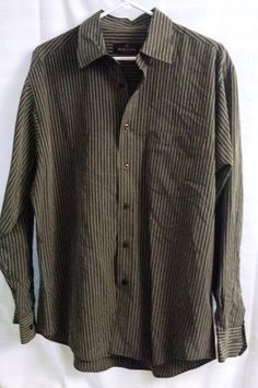 Bugatchi Uomo - Dress Shirt - Mens - Large - Button Down Long Sleeve $25 or best offer