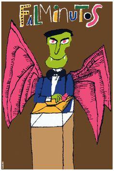 2294 Filminutos Cuban Film Quality Poster Animated Vampire Decorative Art | eBay