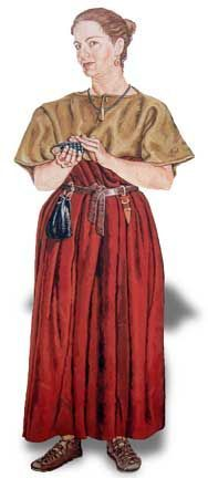 Artist impression of Manton Barrow woman. Image © Wiltshire Archaeological and Natural History Society Museum