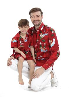 0cf20b25 77 Best Father & Son Matching Hawaii Beach Tropical Outfit images in ...