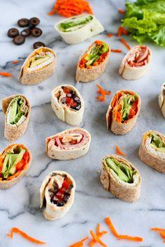 5 Pinwheel Sandwiche