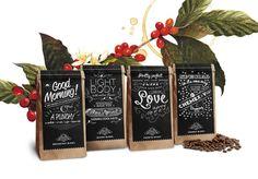 Morning Glory Coffee, via Behance