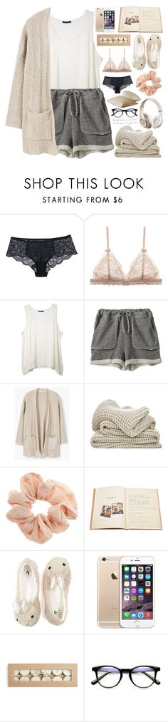 """""""2513. Strenght grows in the moments when you think you can't go on but you keep going anyway."""" by chocolatepumma ❤ liked on Polyvore featuring Chantelle, Zoe Tee's, MANGO, Topshop, Assouline Publishing and Beats by Dr. Dre"""
