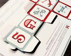 Die Cut Holiday Promo by Creative Suitcase via Under Consideration