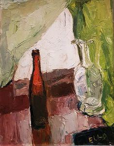 1940-1950-tal målningar av Elga Sesemann