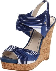 Nine West Women's Littlemiss Wedge Sandal,Dark Blue/White Fabric,9.5 M US Nine West,http://www.amazon.com/dp/B005VHNNVA/ref=cm_sw_r_pi_dp_vBB2rb0YNZ8PP1TY