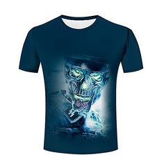 3d Pattern, Branded T Shirts, Cool Stuff, Stuff To Buy, Fashion Brands, Graphic Tees, Tee Shirts, Skull, Mens Tops