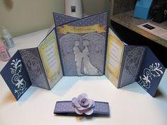 Calla Lily Studio Blog: Anniversary Fun Fold Card