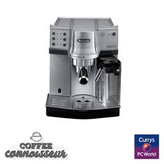 #PassionatePins DELONGHI EC860.M Espresso Machine www.currys.co.uk/gbuk/household-appliances/small-kitchen-appliances/coffee-machines-and-accessories/espresso-capsule-machines/delonghi-ec860-m-espresso-machine-silver-21485823-pdt.html?cmpid=social~pinterest~i~ecska