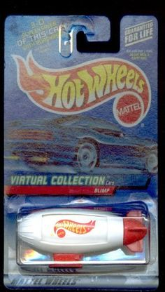 Hot Wheels 2000-142 Blimp Virtual Collection 1:64 Scale by MATTEL. $14.50. 1:64 DIE CAST COLLECTOR CAR. VIRTUAL COLLECTION