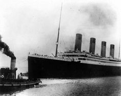 COMING SUNDAY: Take a Titanic voyage with The HN. The British liner Titanic sails out of Southampton, England, at the start of its doomed voyage on April 10, 1912. The ship struck an iceberg and sank on April 14-15, killing more than 1,500 of the 2,200 people aboard, many of them because there weren't enough lifeboats.