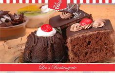 Celebrate each day of Christmas to New Year with our Desserts! Visit Leo's Boulangerie, opp. Sasural Hotel, Lokhandwala!
