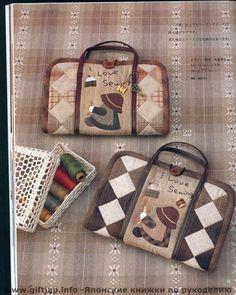kit de costura em patchwork |