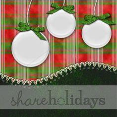 scrapbook layouts christmas | Green Stitched Christmas Layout | Christmas Scrapbooking