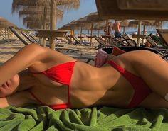 Cute Swimsuits, Cute Bikinis, Sexy Bikini, Bikini Girls, Summer Body Goals, Bikini Poses, Body Motivation, Summer Aesthetic, Body Inspiration